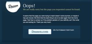 deaxon 404